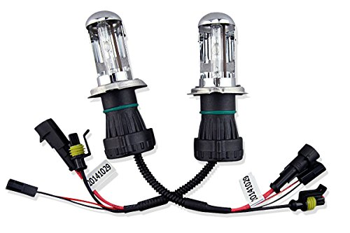 Car Rover 6000K H4-3 9003-3 H4 Hi/Lo HID Bi Xenon Replacement Bulb Without Relay Harness(Pack Of (Bi Xenon Hid Conversion Bulb)