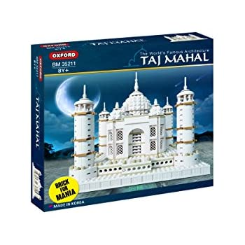 Oxford Taj mahal Building Block Kit, Special Edition Assembly Blocks BM 35211