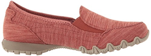 Para Mocasines lounger Brick Bikers Skechers Mujer AYUqxnt