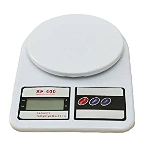 dipshop LCD Household Kitchen Scale Precision Digital Electronic Scale 7KG/1G