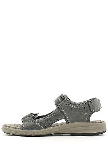 Grunland Isor hommes, cuir lisse, sandales