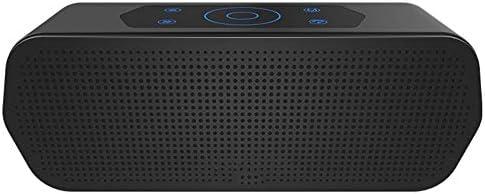 スマートフォンタブレット用ブルートゥーススピーカー8時間プレイ時間IPX5防水ブルートゥーススピーカーワイヤレス屋外ミニブルートゥース4.1 (色 : 黒)