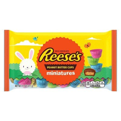 Hershey Candy Seasonal Easter Reese's Peanut Butter Cup Mini
