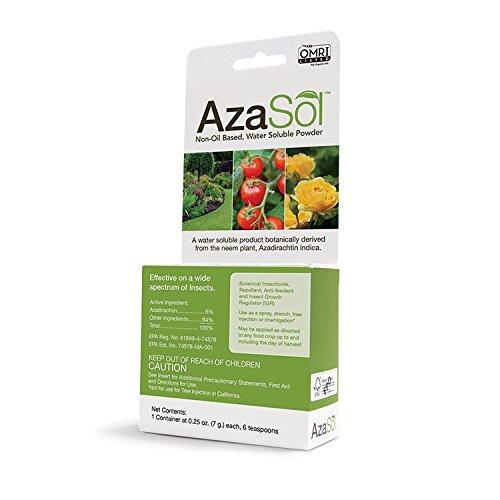 AzaSol 0.25 oz Non-Oil Based, Water Soluble Powder
