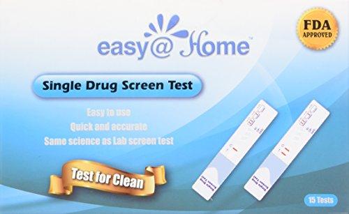 15 Pack Easy@Home Marijuana (thc) Single Panel Drug Tests Kit - 15 Tests