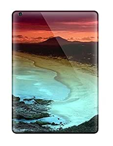 Cute pc AnnDavidson Beach With Sunset Case Cover For Ipad Air