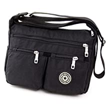 Fadsace Women's Messenger Bag Nylon Cross Body Shoulder Bags Casual Handbag