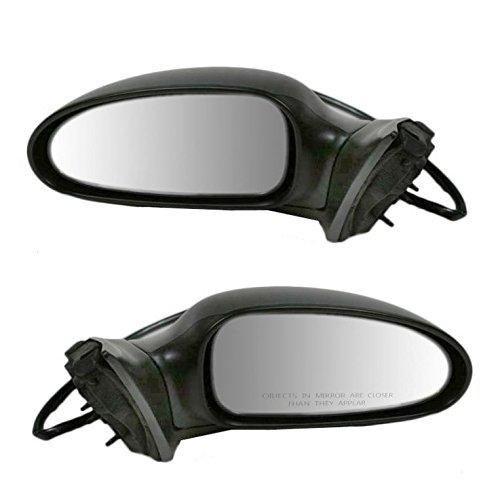 Power Side View Door Mirror Left LH & Right RH Pair Set for 00-05 Buick LeSabre Buick Lesabre Door Mirror