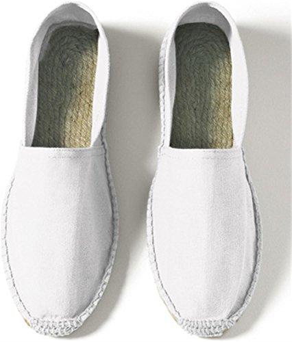Sommerschuhe für Herren | Espadrille Farbe White Größe 42