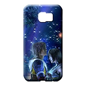 samsung galaxy s6 High High Quality New Snap-on case cover phone back shell final fantasy x