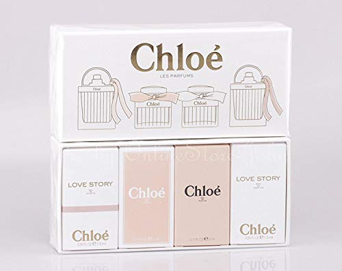 Chloe Mini Travel Gift Set Eau De Parfum Chloe EDP, EDT - Love story EDP, EDT