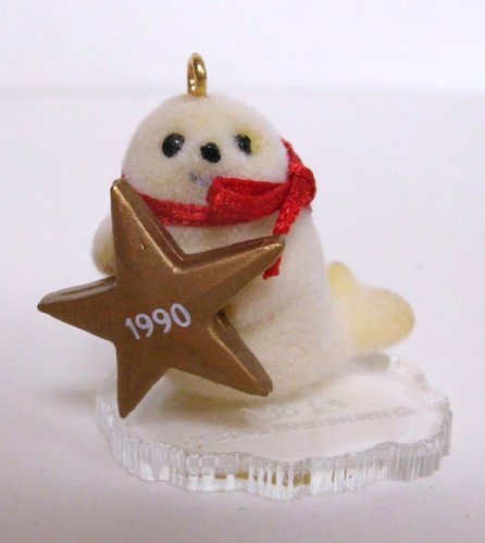Hallmark Keepsake Ornament - Little Seal - 1990 Miniature XPR9721 (Seal Keepsake)