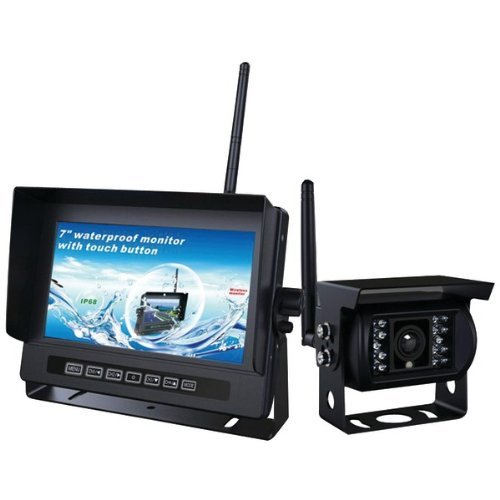 CRIMESTOPPER SV-2000.BRV.PK 2.4GHz Digital Wireless RV Camera & Monitor System with Parking-Assist Lines by - View Pacific Mall