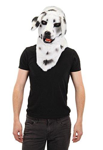 [Elope Dalmatian Mouth Mover Mask] (Moving Men Dog Costume)
