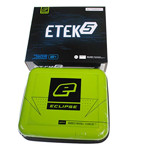 - Planet Eclipse New ETEK 5 (Other Markers with Mod) Paintball Gun Case + Box