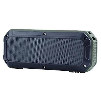 [Waterproof & Dustproof] Osgar® Wireless Bluetooth 3.0 Outdoor speaker Handsfree Portable Speakerphone with Built-in Mic, Ideal for Home, Office, Sports & Biking Use