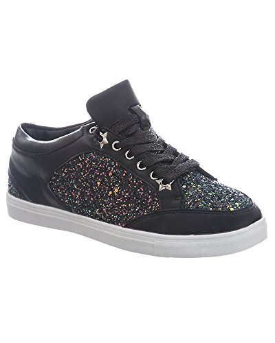 SheLikes , Damen Sneaker Black (Y197)
