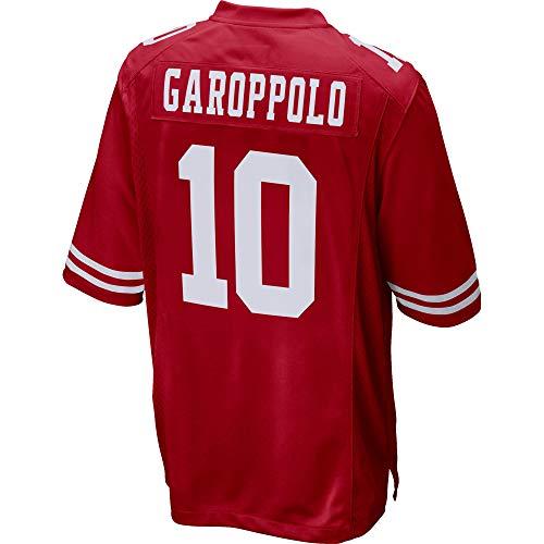 Womens/Mens_49ers_Jimmy_Garoppolo_Scarlet_Game_Jersey