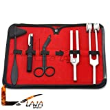 LAJA Imports Tactical Black - Set of 5 pcs Reflex