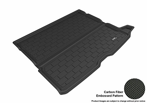(3D MAXpider Custom Fit All-Weather Cargo Liner for Select Mercedes-Benz GLC-Class Models - Kagu Rubber (Black))