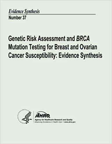 Genetic Risk Assessment And Brca Mutation Testing For Breast And Ovarian Cancer Susceptibility Evidence Synthesis Evidence Synthesis Number 37 Human Services U S Department Of Health And And Quality Agency For Healthcare