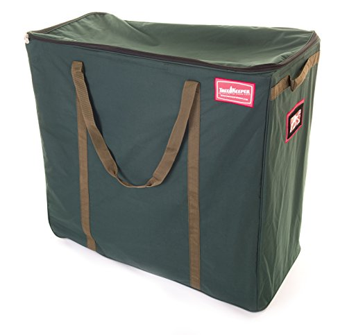 TreeKeeper Multi-Use Rolling Storage Bag (Green) (36''H x 16''W x 33''D) by TreeKeeper