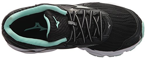 Wave Inspire Shoe Silver 14 Women's Mizuno Running Black 5AUqTUwR