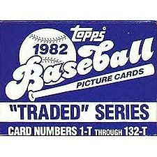 Traded Factory Topps - 1982 Topps Traded Baseball Series Complete 132 Card Set. It Is in the Original Factory Set Box, Never Sealed As Topps Didn't Start Sealing Them Until 1992. This Set Contains the Most Sought After 1982 Cal Ripken Rookie Card #98-T!