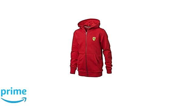 Ferrari Chaqueta niño Capucha Tallas 2 a 16 años: Amazon.es: Coche ...