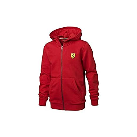 Ferrari Chaqueta niño capucha tallas 2 a 16 años: Amazon.es ...
