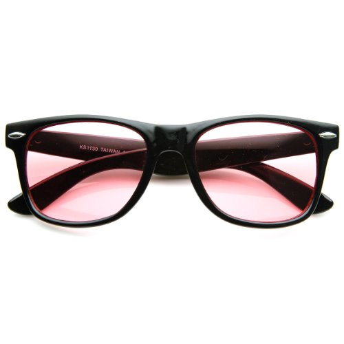 Rose Tinted Lens - Rare Color Tinted Lens Classic Horn