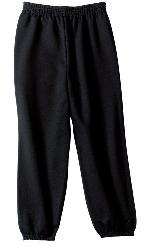 Joe's USA(tm) - Youth Soft and Cozy Sweatpants Black. Size Youth XL(18-20) (Boys Sweatpants Size 18)