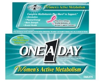 One-a-day Womens Active Metabolism, 50 Tablets (One A Day Bayer)