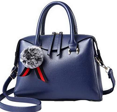Dacron Shopping a Rosa Borse Style FBUIBC181838 Scuro Blu Festa tracolla Tote AllhqFashion Donna tqgRZR