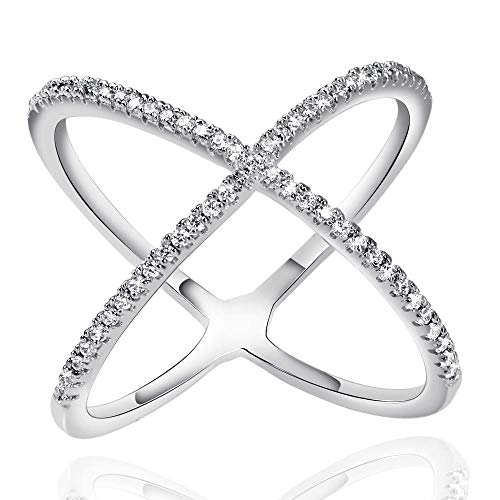 Used, NUOBAIFU X Ring,X Rings for Women,Promise Rings for for sale  Delivered anywhere in USA