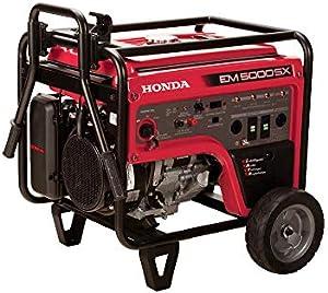 Honda 663640 EM5000SX 120VPortable Generator with Co-Minder