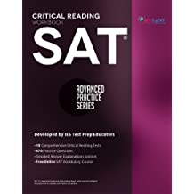 SAT Critical Reading Workbook (Advanced Practice Series) (Volume 4)