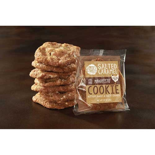 Sweet Street Salted Caramel Manifesto Cookie, 2.94 Ounce -- 48 per case. by Sweet Street (Image #1)