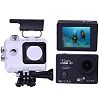 MeHuiLe MA66 Sport Action Camera 4K WiFi 2.0-inch Ultra HD 30 Meter Waterproof Camcorder DV 170 Degree 12MP HDMI