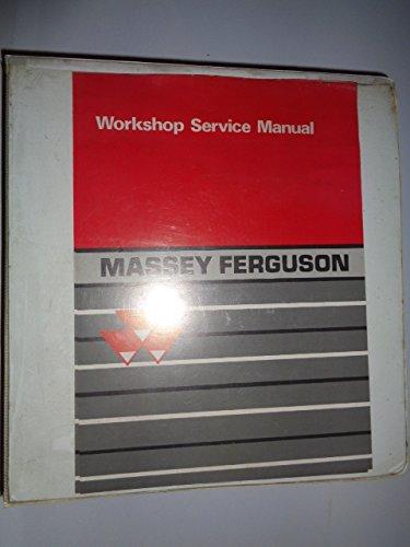 Massey Ferguson MF 2745 2775 2805 Tractor Workshop Service Shop Repair Manual & 3-Ring Binder