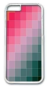 ICORER iPhone 6 Case Colored Squares Shop iPhone 6 Case PC Hard Plastics Case Cover for iPhone 6 Transparent