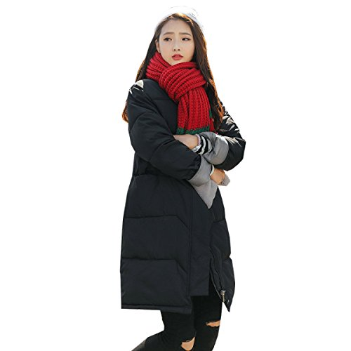 Winter Version Cotton Down nihiug Large Coat Eiderdown Down Loose Korean Size A Section Outwear Thickening Long Jacket YxzYF