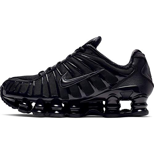Nike W Shox TL, Zapatillas de Atletismo para Mujer, Multicolor (Black/Black/Mtlc Hematite/MAX Orange 000), 40 EU: Amazon.es: Zapatos y complementos