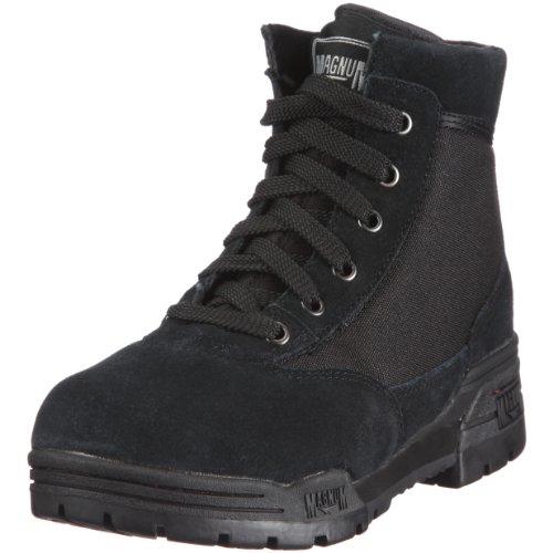 Magnum MID M800280 Unisex-Erwachsene Combat Boots Schwarz (BLACK (SUEDE) 002)
