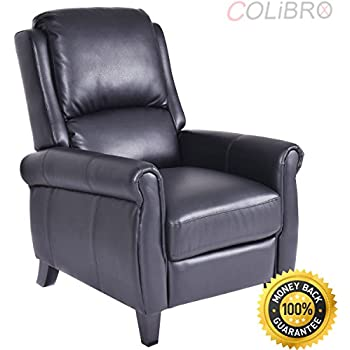 Amazon Com Colibrox Leather Recliner Accent Chair Push
