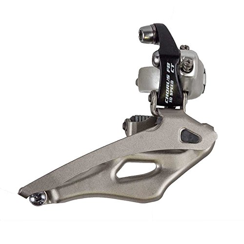 Campagnolo Chorus 10 Speed (Compact) 32mm Clamp On Front Derailleur -  FD5-CH2C2CTFB