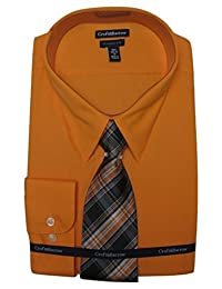 Croft & Barrow Men's Classic-Fit Point Collar Dress Shirt & Patterned Tie Set