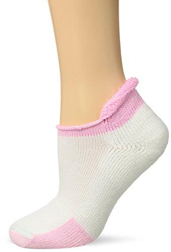 Thorlos T Max Cushion Tennis Rolltop Socks, Pink, Medium