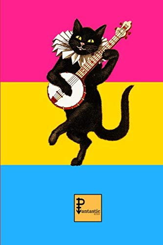 Pantastic Notes: With Pansexual flag and a quirky design for queer people  30 sheets / 60 pages - Soft cover 9