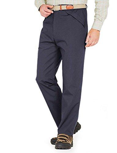 Ouatine De Hommes Rayé Pantalon Extérieur Résistant À L'Eau Thermale Bleu 127cm x 84cm
